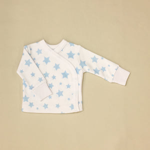 Blue Stars Layette Set Long Sleeve