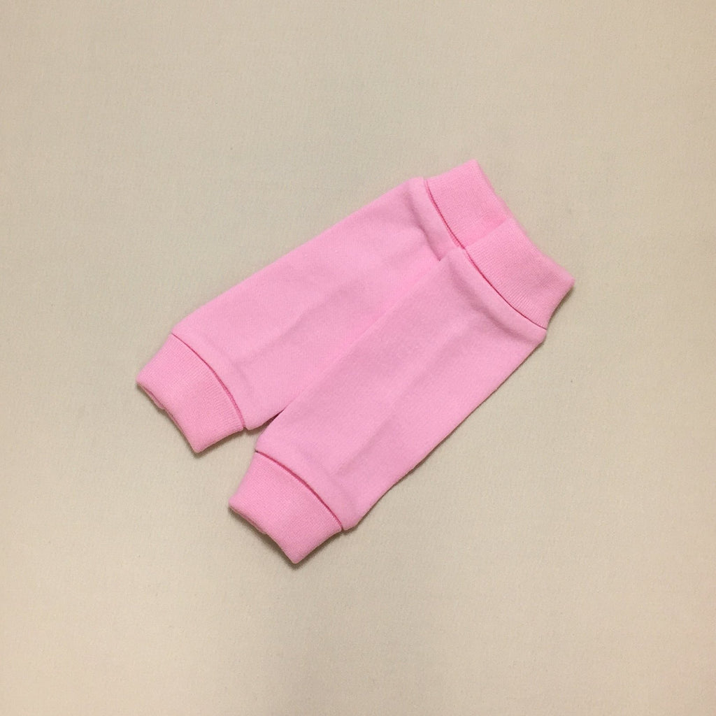 NICU Friendly pink leg warmers preemie baby infant clothing