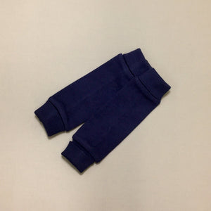 NICU Friendly navy leg warmers preemie baby