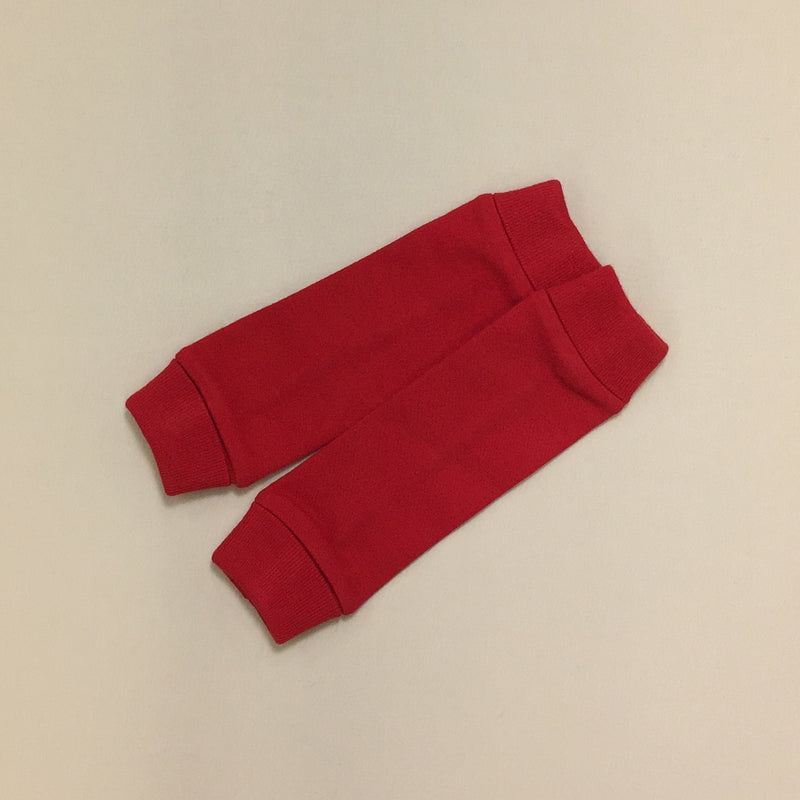 NICU Friendly red leg warmers preemie baby infant clothing
