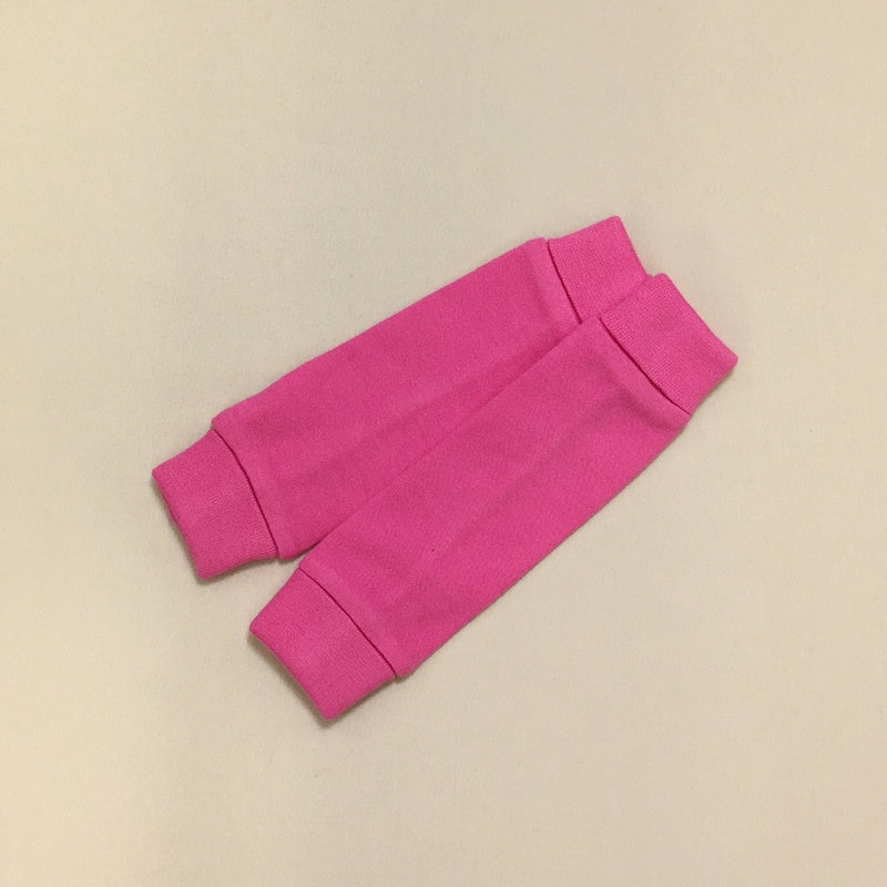 NICU Friendly fuchsia leg warmers preemie baby