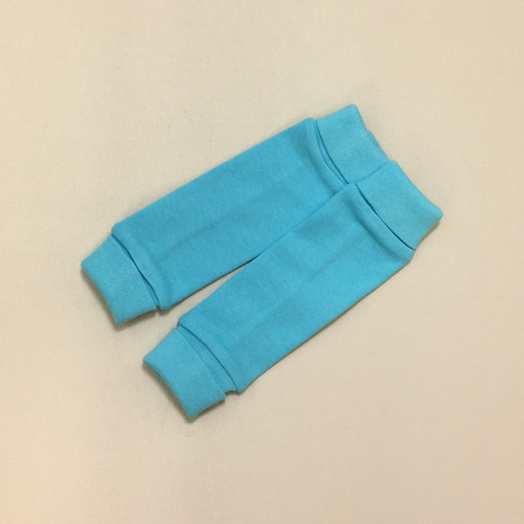 NICU Friendly Turquoise leg warmers preemie baby infant clothing