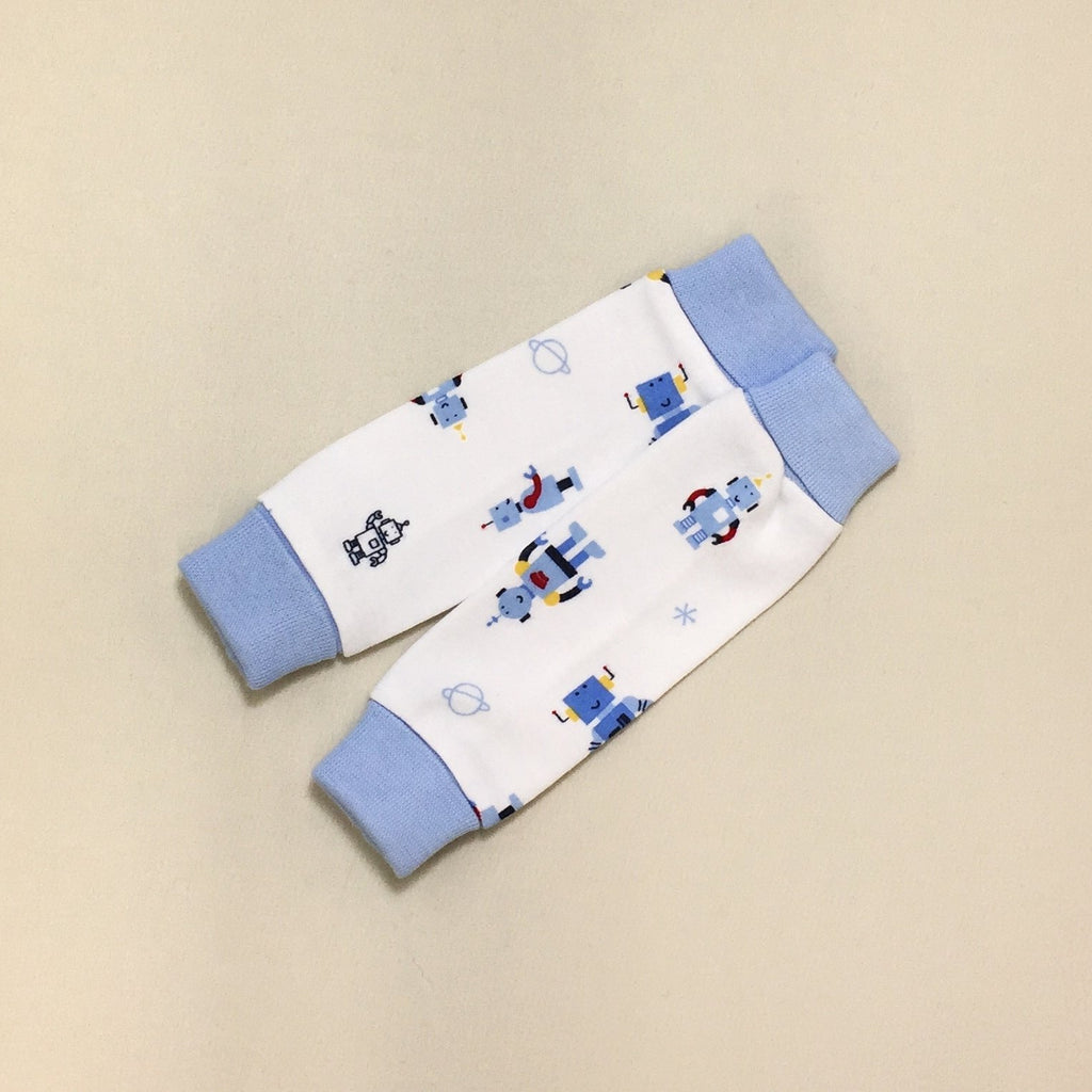 NICU Friendly Robots leg warmers preemie baby infant clothing