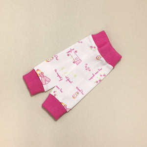 NICU Friendly Princess Garden leg warmers preemie baby infant clothing
