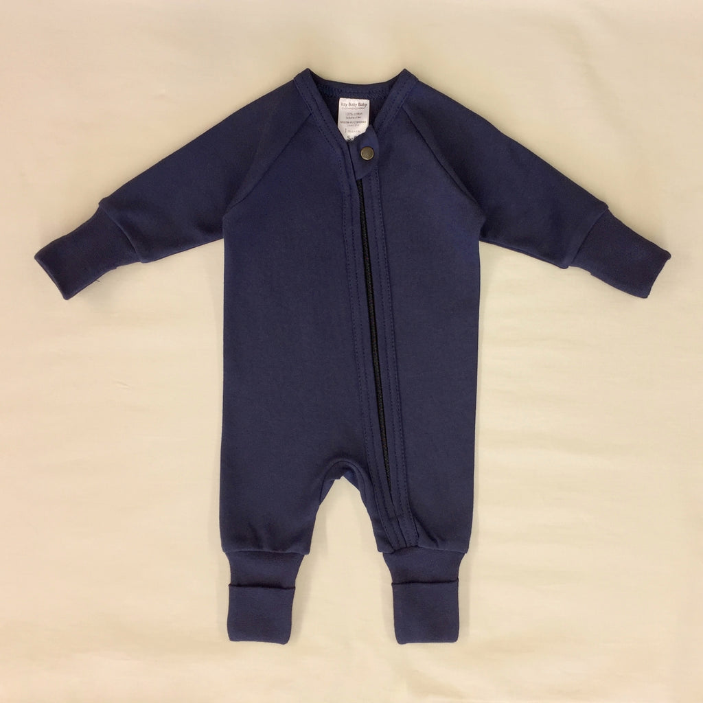 Zip Sleep & Play Suit Deep Lake