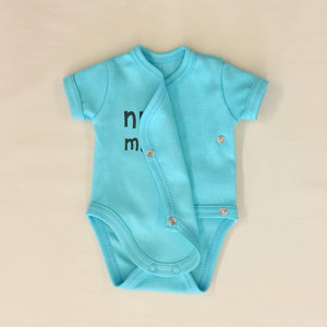 NICU Friendly Graphic Kimono Bodysuit Nurse Magnet Made in Canada