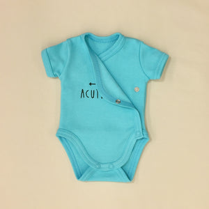NICU Friendly Kimono Baby Bodysuit Acute Baby Made in Canada