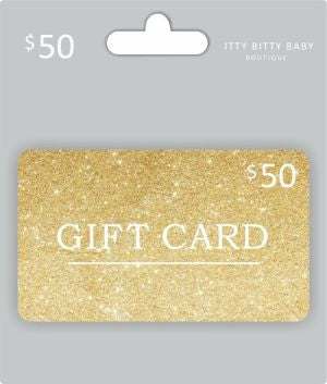 Itty Bitty Baby Boutique Gift Card $50