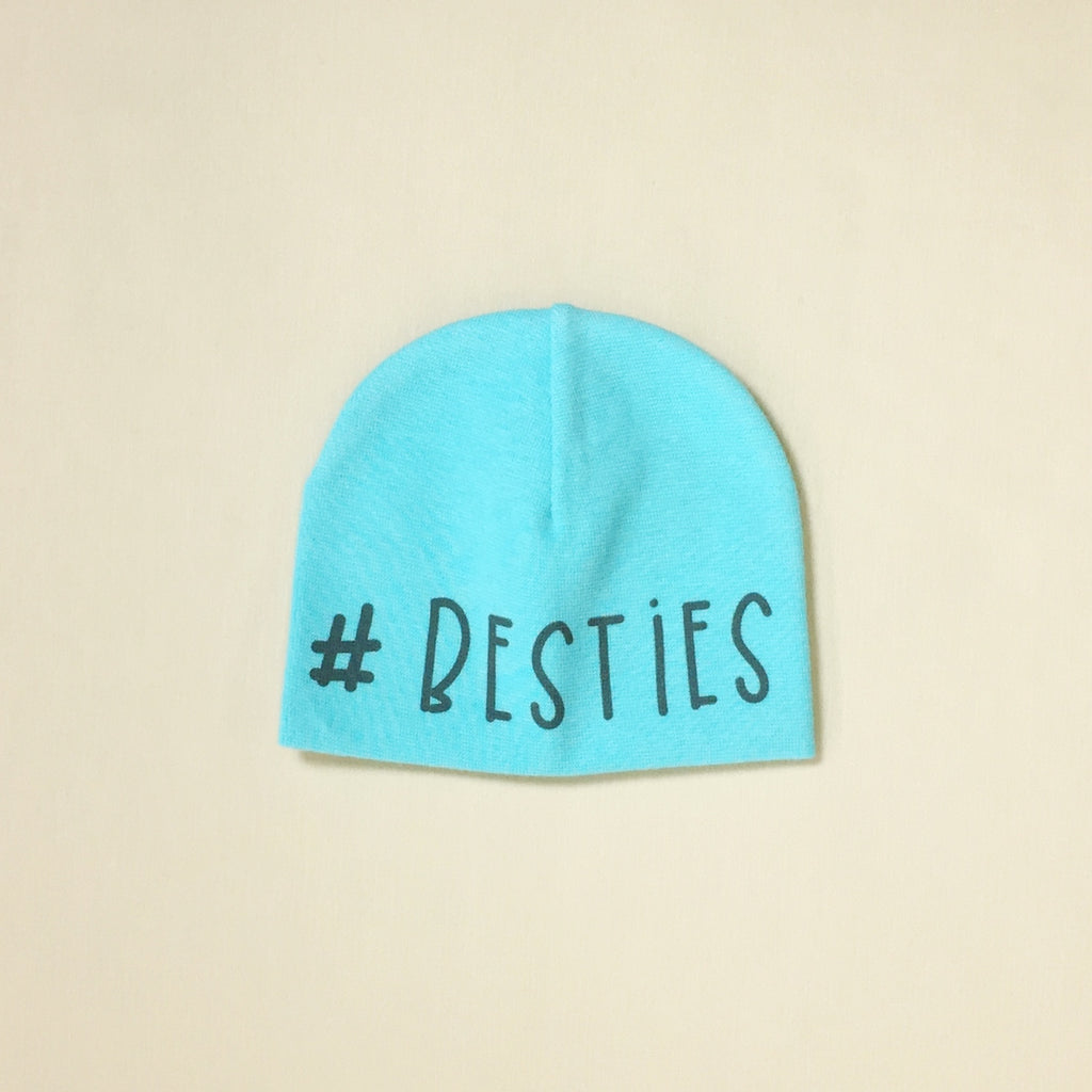 #besties NICU hat preemie baby hat Turquoise Made in Canada