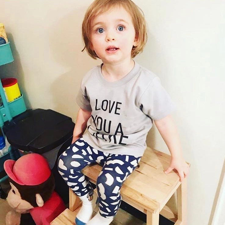 USA Cotton Love You A Latke toddler t-shirt Made in Canada