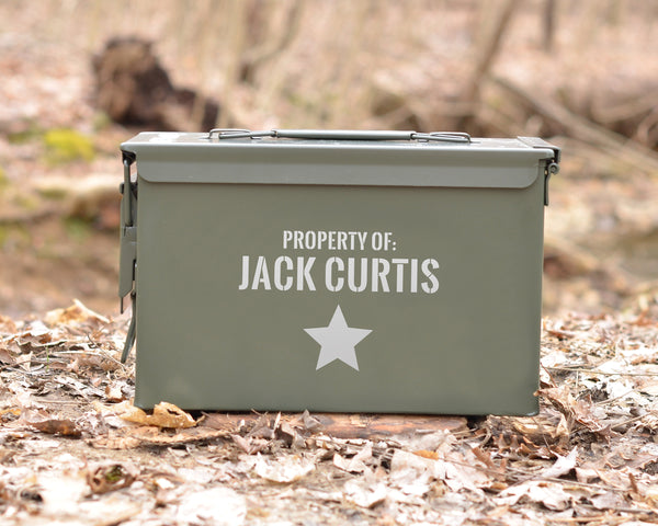 Personalized 50 Cal Ammo Can