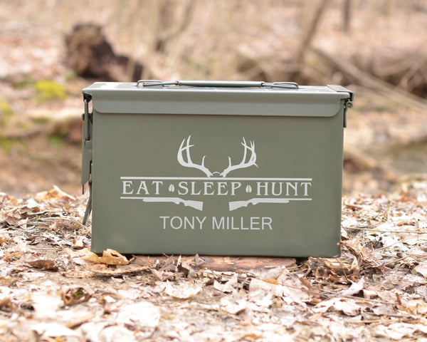 Personalized Ammo Can For Hunters