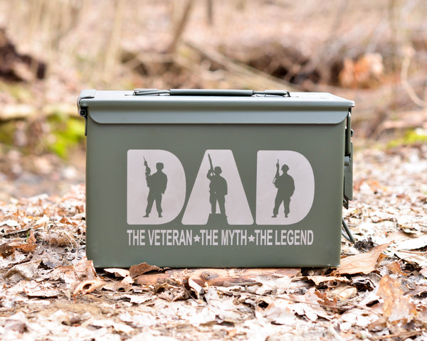 Personalized Ammo Can Dad The Legend