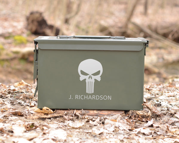 Personalized Ammo Can Punisher