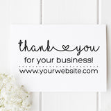 Thank You Business Self Inking Stamp B1 - Stamp Nouveau