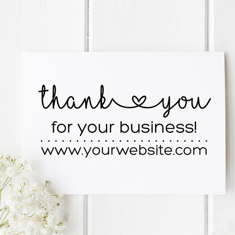 Thank You Business Self Inking Stamp B1