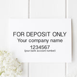 Deposit Only Self Inking Stamp B3