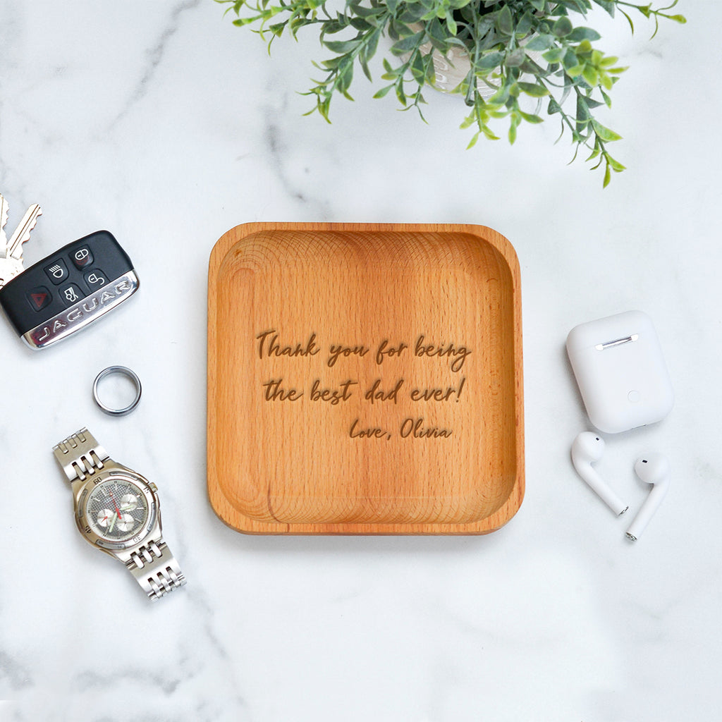 Best Dad Catchall Tray - Stamp Nouveau