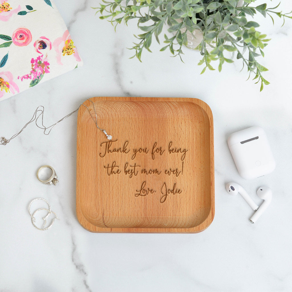 Best Mom Catchall Tray - Stamp Nouveau