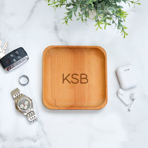 Engraved Catchall Tray