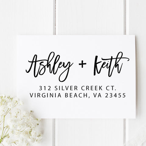 Silver Creek Return Address Stamp D240