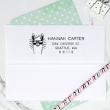 Llama Return Address Stamp D391 - Stamp Nouveau