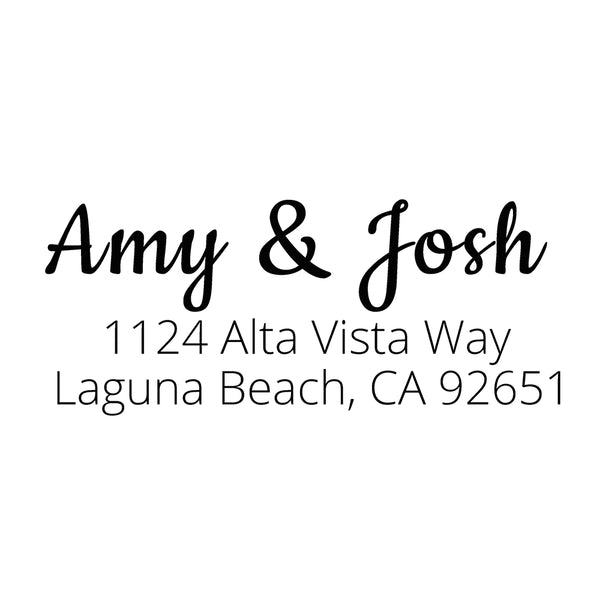 Alta Vista Return Address Stamp