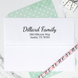 Hillcrest Self Inking Return Address Stamp  D401 - Stamp Nouveau