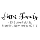 Butterfield Return Address Stamp D411 - Stamp Nouveau