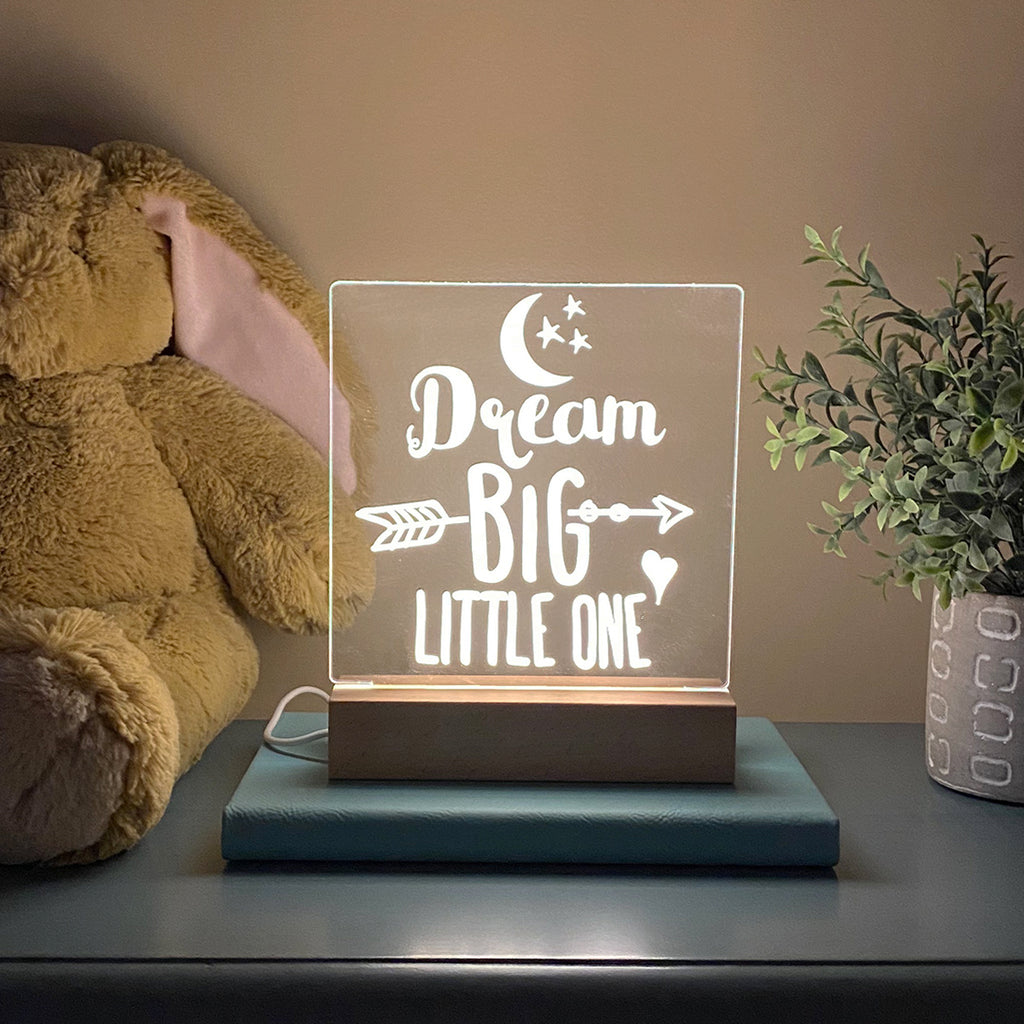 Dream Big Little One Night Light - Stamp Nouveau