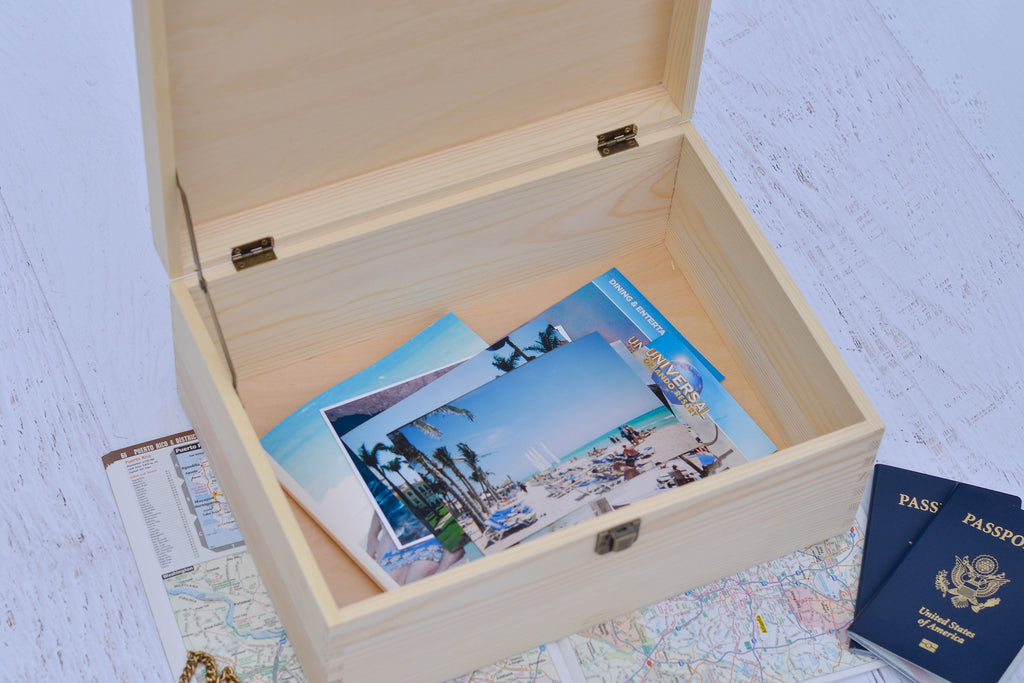 Personalized Keepsake Box Our Story - Stamp Nouveau
