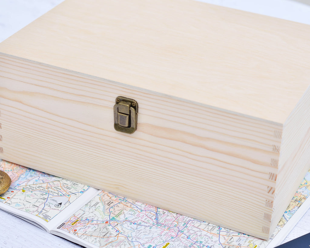 Jackson Personalized Keepsake Box - Stamp Nouveau