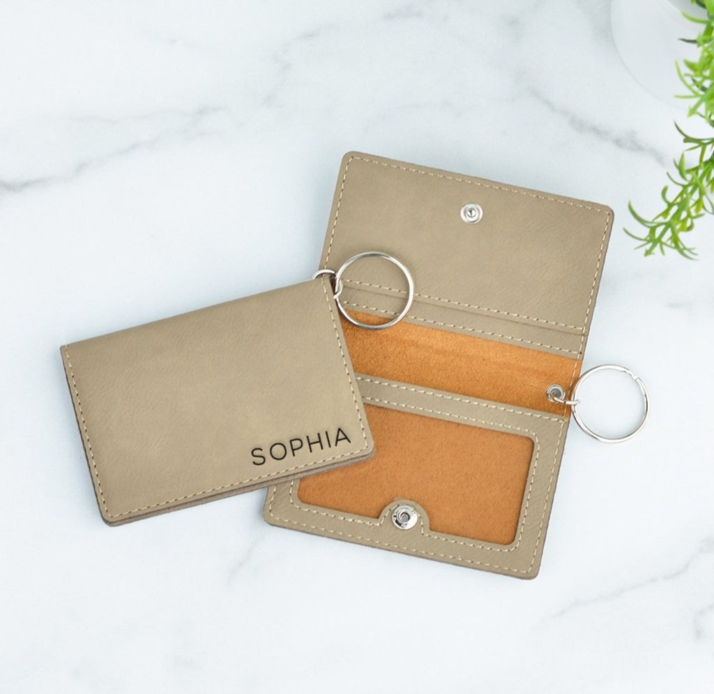 Classic Personalized Keychain ID Wallet