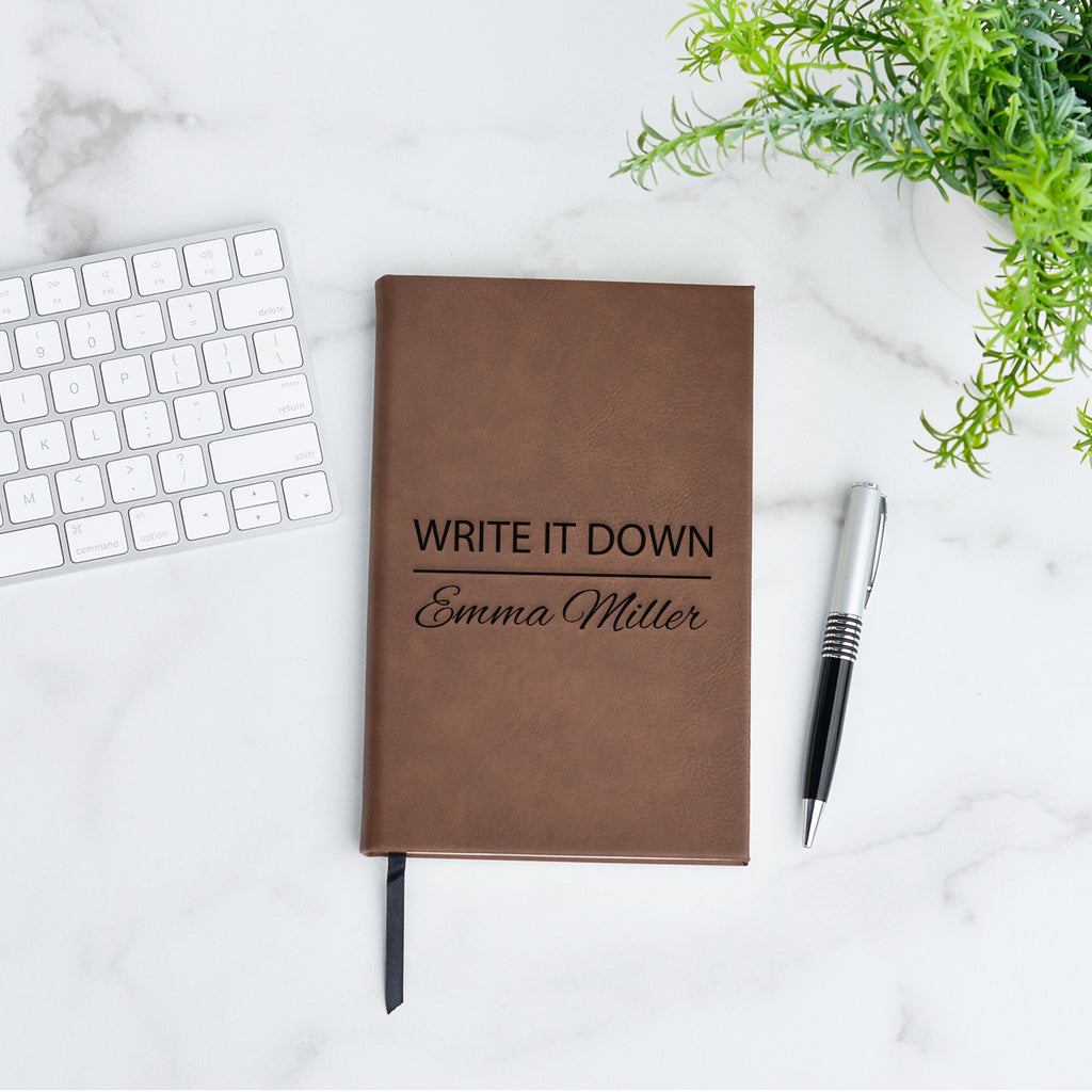 Write It Down Personalized Journal