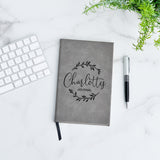 Wreath Script Personalized Journal