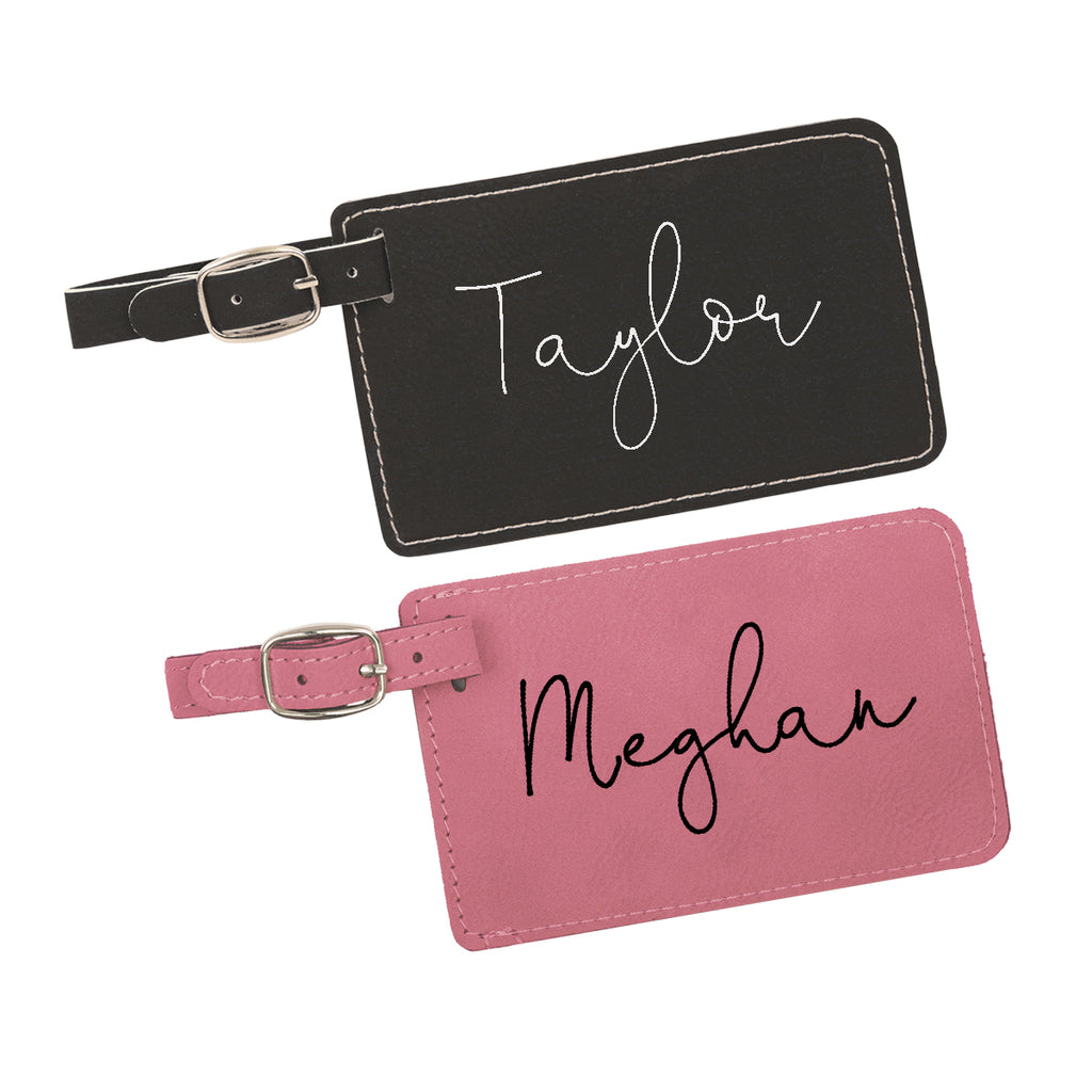 Personalized Luggage Tags - Travel Love