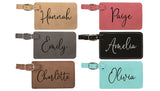 Personalized Luggage Tag - Destination Wedding - Stamp Nouveau