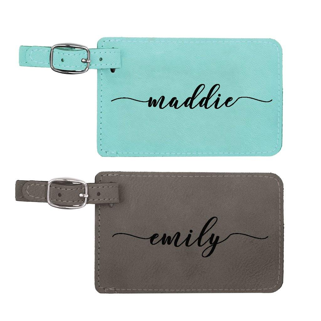 Frequent Flyer Personalized Luggage Tag - Stamp Nouveau