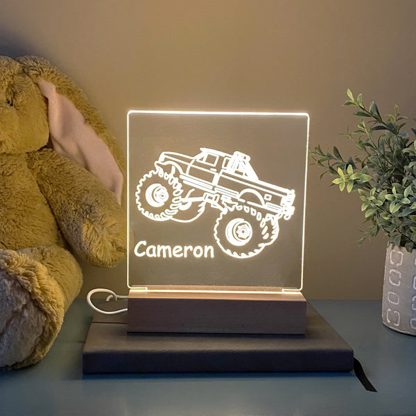 Monster Truck Night Light