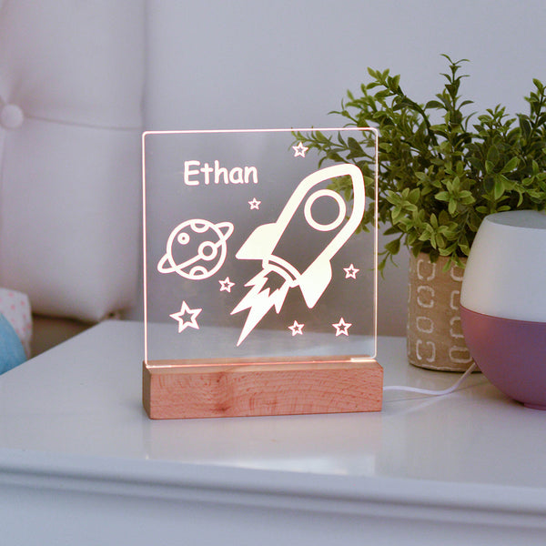 Outer Space Kids Night Light