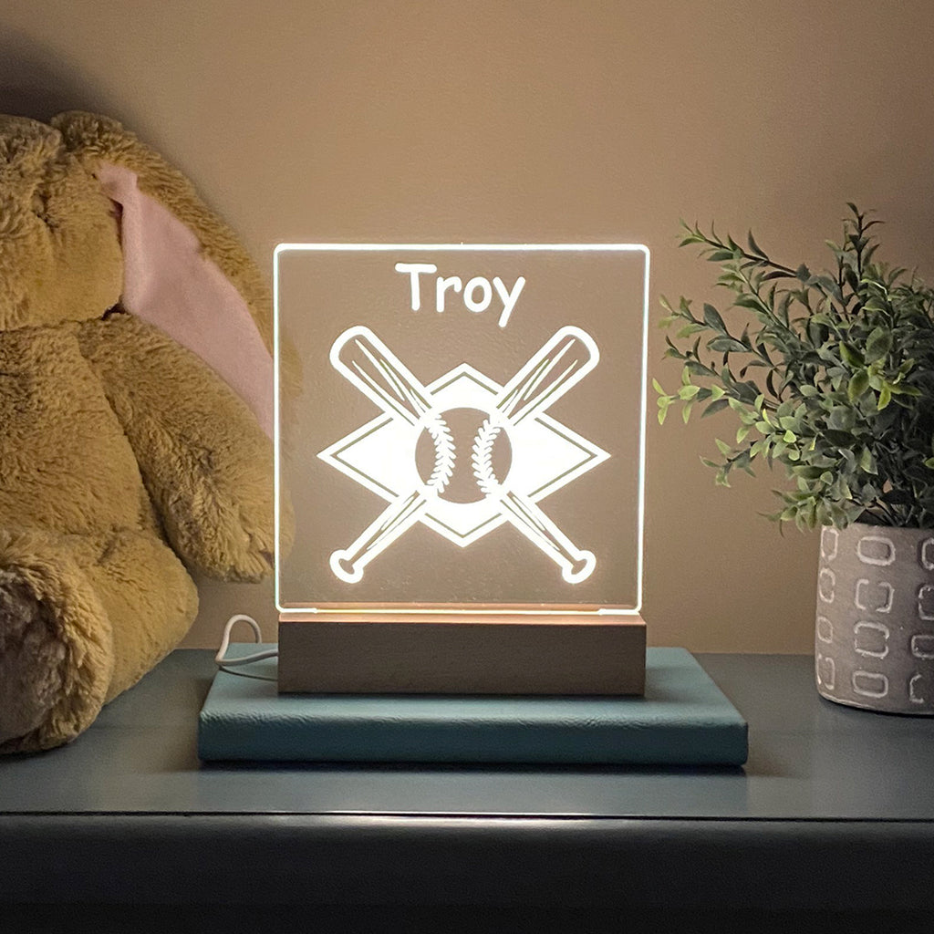 Baseball Night Light - Stamp Nouveau