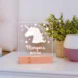 Unicorn Personalized Kids Night Light
