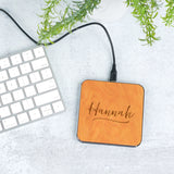 Classic Script Wireless Phone Charger - Stamp Nouveau