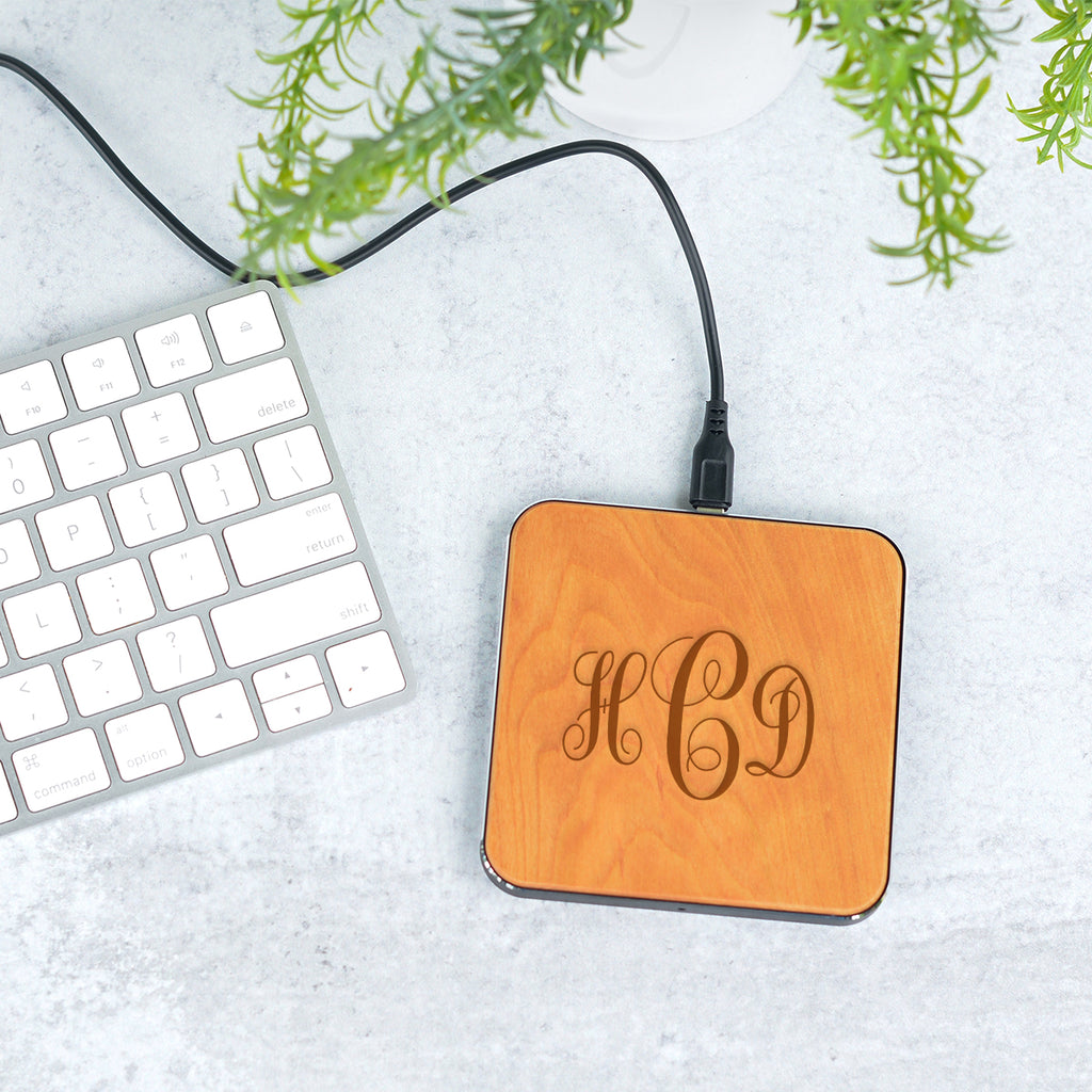 Monogram Wireless Phone Charger - Stamp Nouveau