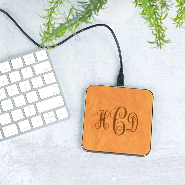 Monogram Wireless Phone Charger