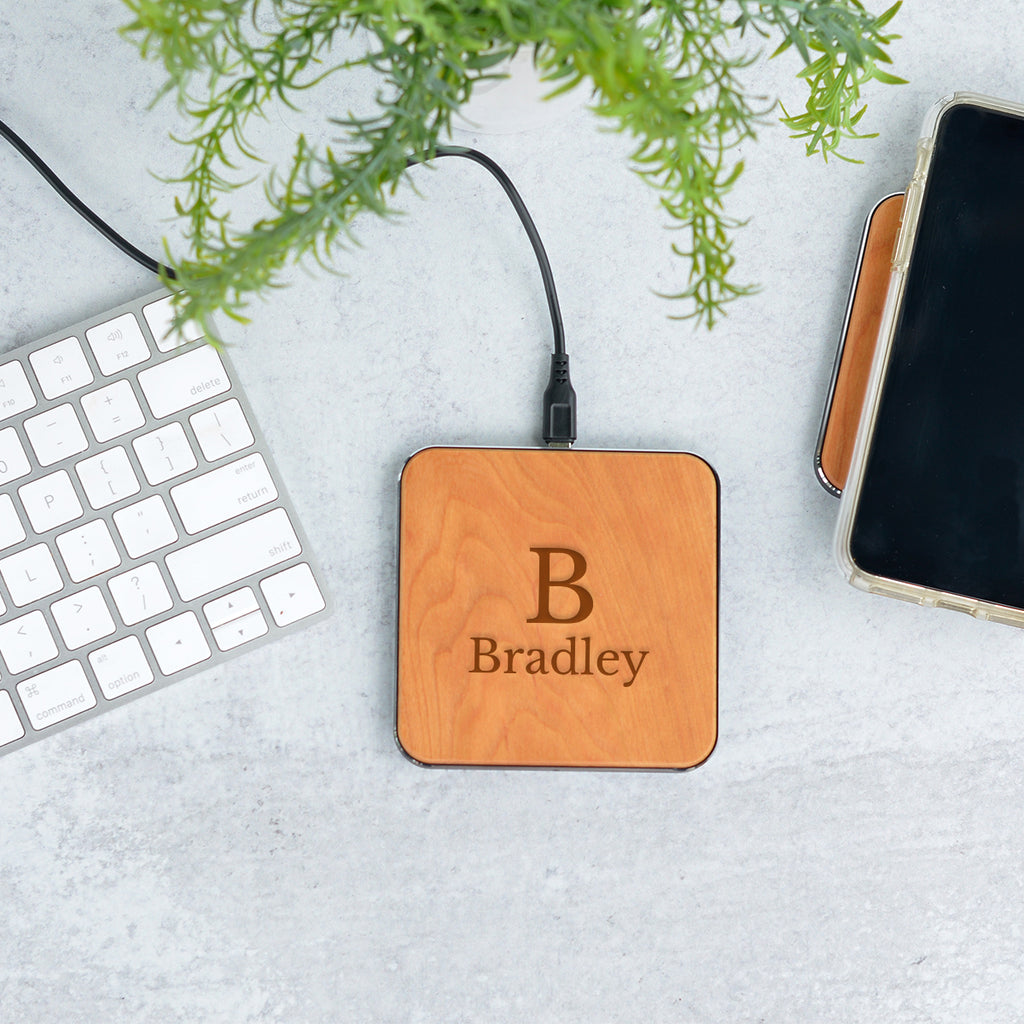 Elegant Wireless Phone Charger - Stamp Nouveau
