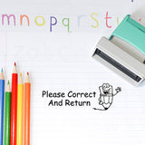 Correct And Return Teacher Stamp  T17 - Stamp Nouveau