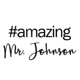 Hashtag Amazing Teacher Stamp T9 - Stamp Nouveau
