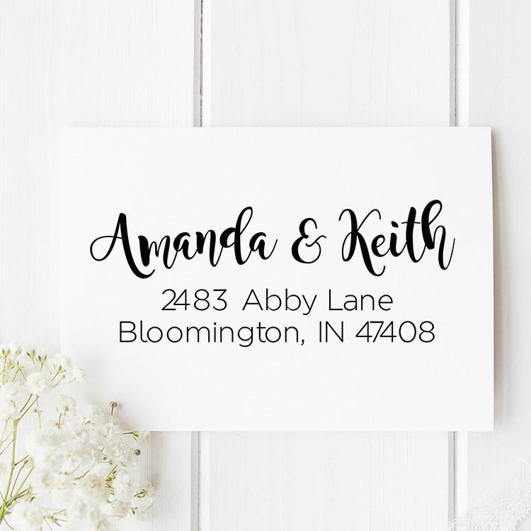 Abby Lane Return Address Stamp - Stamp Nouveau
