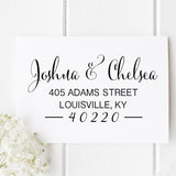 Adams Return Address Stamp - Stamp Nouveau